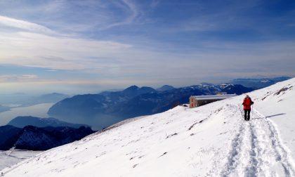 L'inverno salendo al Monte Golem Fascino e scorci mozzafiato