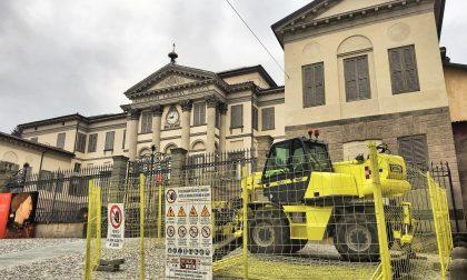 Accademia Carrara, iniziati i lavori Barchessa, uno spazio flessibile