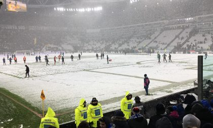 La neve spegne le polemiche Juventus-Atalanta rinviata