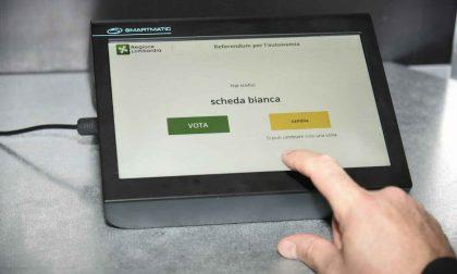 I tablet del referendum lombardo in verità sono inutilizzabili altrove