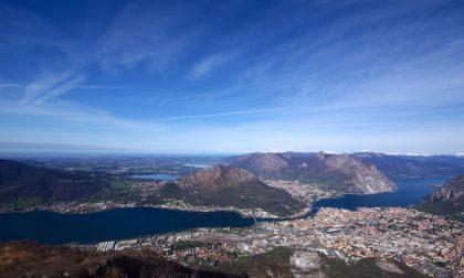 Al Monte Magnodeno, sui laghi