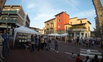 Made Espo Osio, Piazza Garibaldi si veste di mille luci colorate