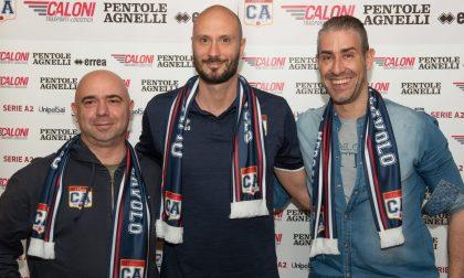 Caloni, sera di festa con sorpresa Il nuovo allenatore è Spanakis