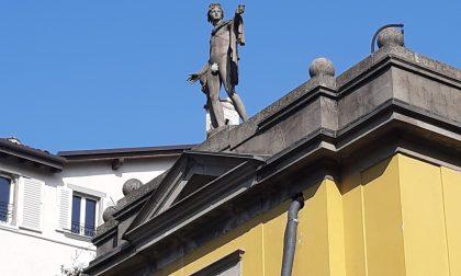 Bergamo scolpita, una via cittadina