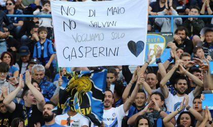 L'ultima partita a Bergamo tra speranze, lacrime e… Gasp