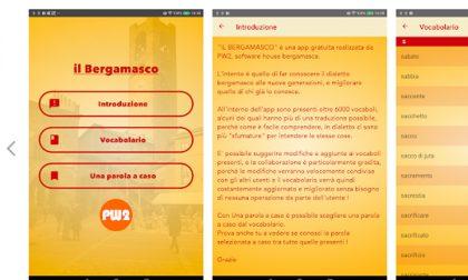 Parlare in bergamasco è più facile C'è una app che traduce i vocaboli