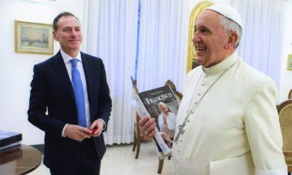 Alborghetti, il (bravo) giornalista che si è messo a tavola con il Papa