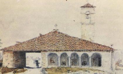Seriate, l'antica chiesa di gére che il fiume si è portato via