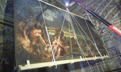 Nella Basilica di S. Maria Maggiore è tornato il Diluvio Universale