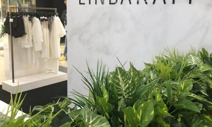 Il negozio di Linda a Oriocenter (che è esattamente come lei)