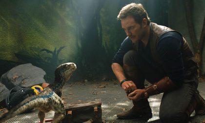 Il film da vedere nel weekend Jurassic World – Il regno distrutto