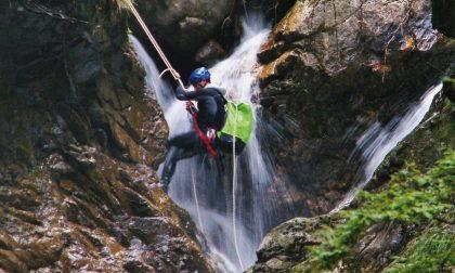 Canyoning sul Serio, un'avventura