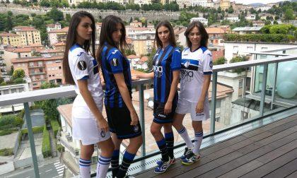 La presentazione delle nuove maglie dell'Atalanta 2018/2019