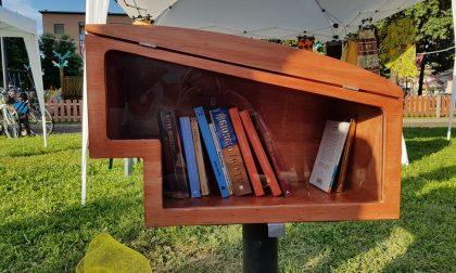 La casetta dei libri più bella a Treviolo è quella di Vergani