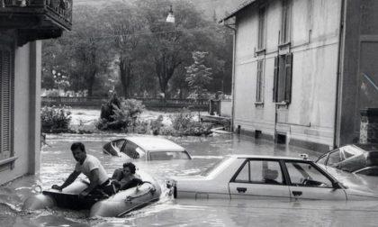 L'alluvione in Val Brembana Quei tragici giorni del 1987