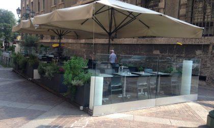 """Bergamo """"città dei dehor"""". Ecco i punti in cui si potranno allestire nuovi spazi all'aperto"""