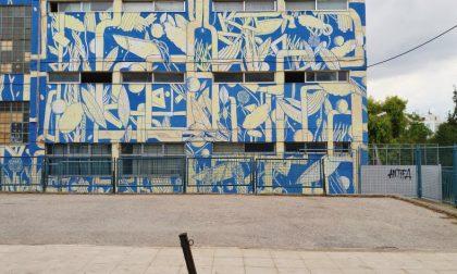 Pianura Urbana, la street art colora altri due muri a Treviglio (con Crisa)