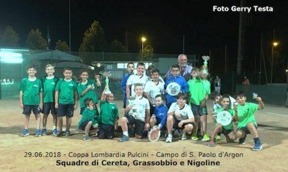 Grassobbio, i piccoli tamburellisti campioni della Lombardia