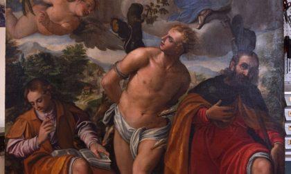 Un'opera inedita di Zeno Donise scoperta nella chiesa di Roncobello