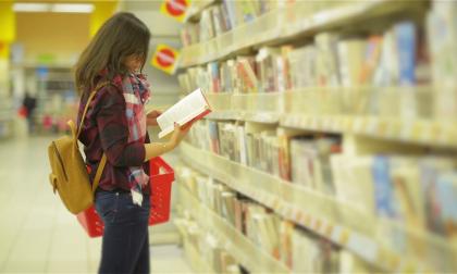 Pensieri segreti di una commessa Chi compra libri al supermercato