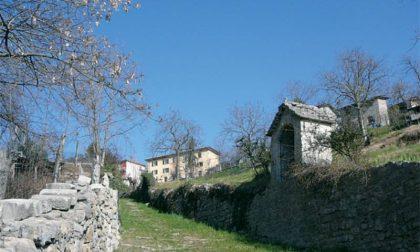 La grigia Pietra di Berbenno di cui è fatta la Valle Imagna