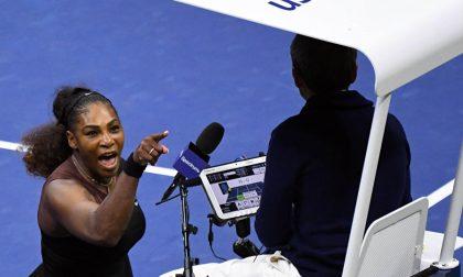 Quella brutta scenata di Serena che resta sempre, però, Serena