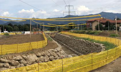 I lavori per ampliare la Dalmine-Villa e il gran rumore che fanno a Mozzo