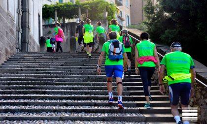 Millegradini tra scale e scalette Su e giù per scoprire Bergamo