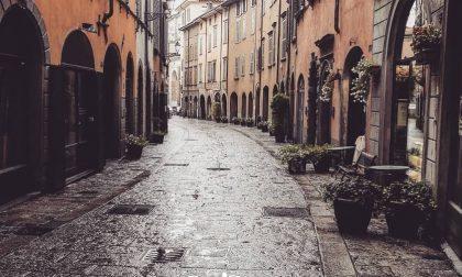 Bergamo e la pioggia – Giuseppe Romano
