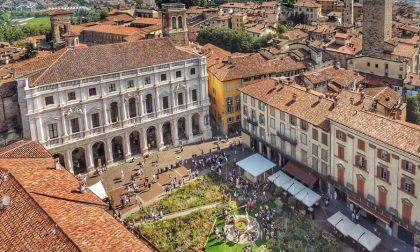 Piazza Vecchia verde, dall'alto – Max Bellisario