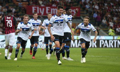 Un'Atalanta formato battaglia riacciuffa nel finale il Milan