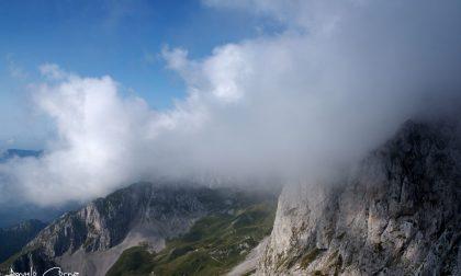Tra le nubi, la Presolana - Angelo Corna