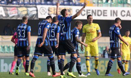 Torna Ilicic, torna l'Atalanta: finisce 5-1