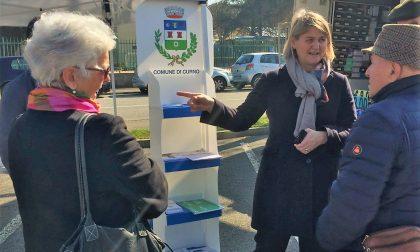 Il sindaco di Curno va al mercato per ascoltare tutti i suoi cittadini