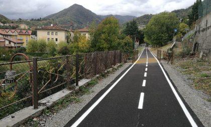 Val Brembana, la ciclabile cresce Aperto il tratto Almè-Villa d'Almè