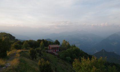 Il Monte Zucco e il Pizzo Cerro le sentinelle della Val Brembana