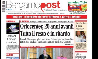 Cosa c'è nel nuovo BergamoPost che dal 23 novembre è in edicola