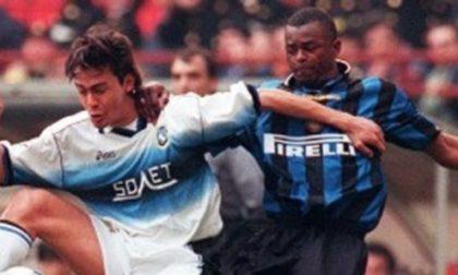 Il calcio d'attacco del Gasp contro l'ex bomber Inzaghi