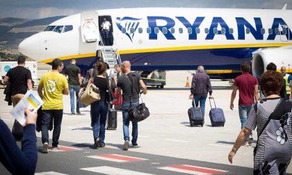 A Orio Ryanair potenzia i voli per Bari, Napoli, Catania e Palermo: 12 in più la settimana