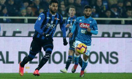 Hanno vinto il Napoli (1-2) e soprattutto i tifosi dell'Atalanta
