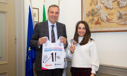 Un'universitaria da… medaglia Martina Bellini, dagli sci agli esami
