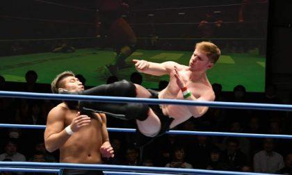 Il wrestler bergamasco in Giappone Akira Begnini e il suo sogno sul ring