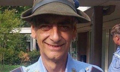 Addio a Francesco, il vigile alpino «Mio marito aiutava sempre tutti»