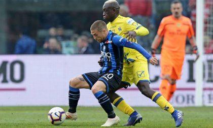 Sorrentino e il pressing fermano l'Atalanta (1-1)