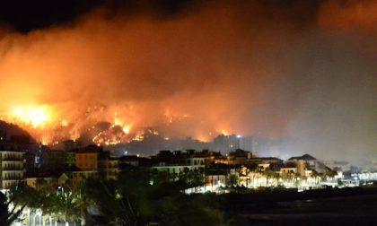 Dopo il ponte anche gli incendi La Liguria continua a soffrire