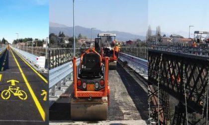 Venerdì il ponte di Paderno riapre a pedoni e bici (ma niente navette)