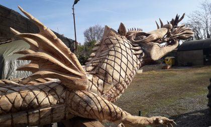 Vaprio d'Adda, il drago Tarantasio è pronto a tornare nella sua casa