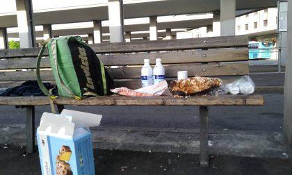 Stefano ha addolcito la Pasqua dei tanti senzatetto alla stazione