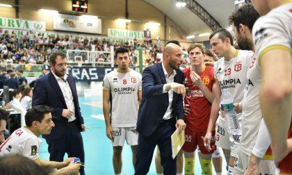 L'Olimpia lotta ma cede a Cantù Ci si gioca la finale giovedì in casa