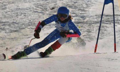 Piccoli campioni crescono, sugli sci